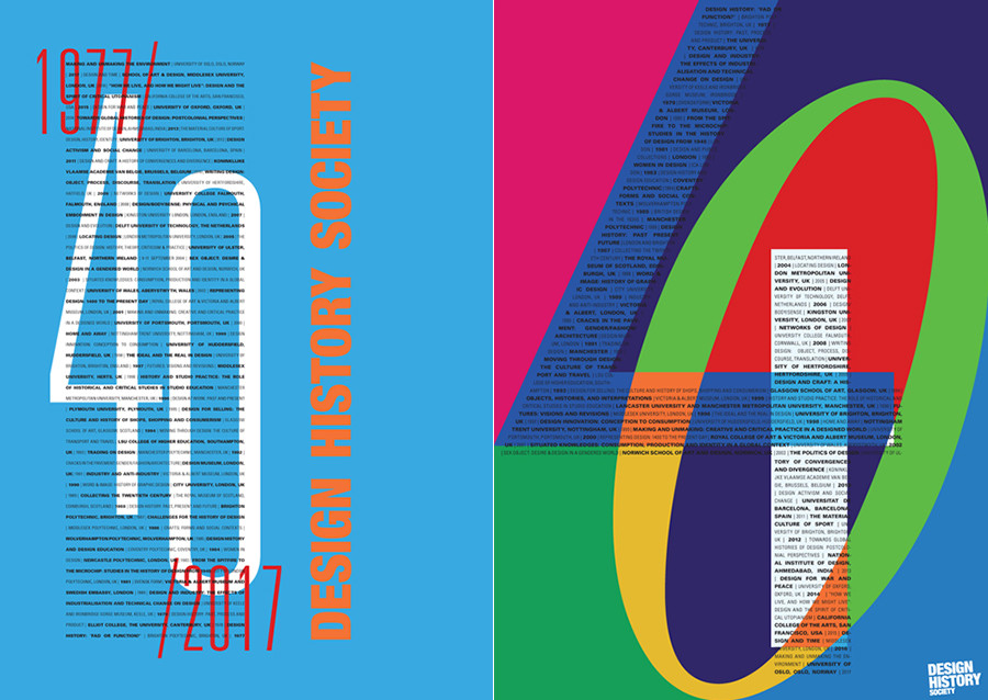 Feature: Designing the DHS 40th Anniversary Poster