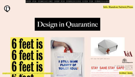 In Real Time: Digitally Archiving Pandemic Designs on Design in Quarantine